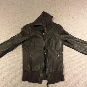 Mackage leather jacket medium.